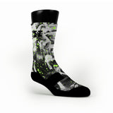 Graffiti Custom HoopSwagg Socks