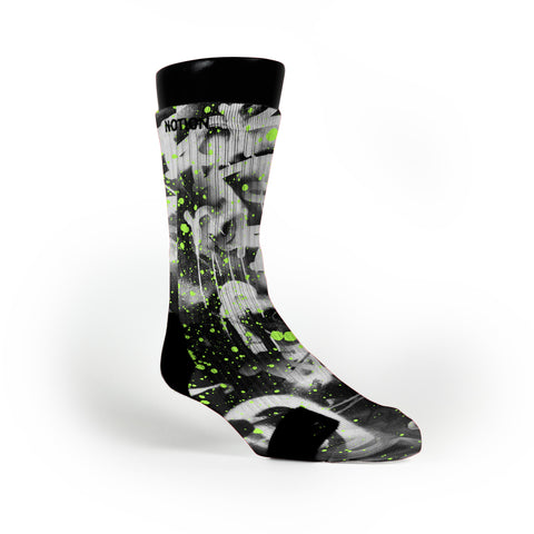Graffiti Custom Notion Socks