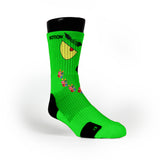 Grinch Custom Notion Socks