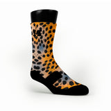 Haze Cheetah Custom HoopSwagg Socks