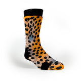Haze Cheetah Custom Notion Socks