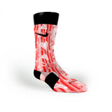 Heart Strings Custom Nike Elite Socks