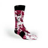 Heat Splatter Custom Nike Elite Socks