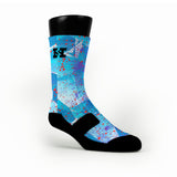 Hornets Custom HoopSwagg Socks