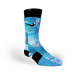 Hornets Custom Nike Elite Socks