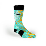 Illusion Quakes Custom Nike Elite Socks