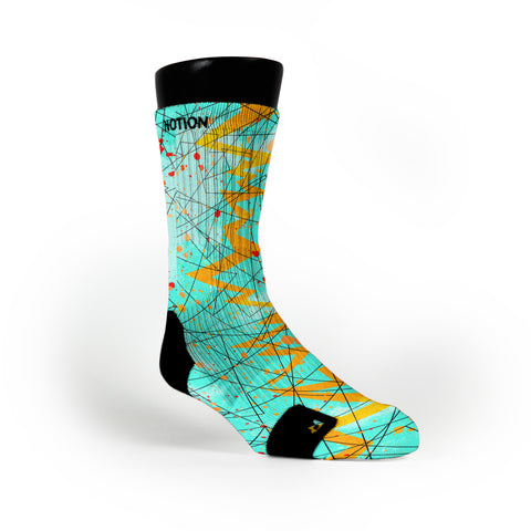 Illusion Quakes Custom Notion Socks
