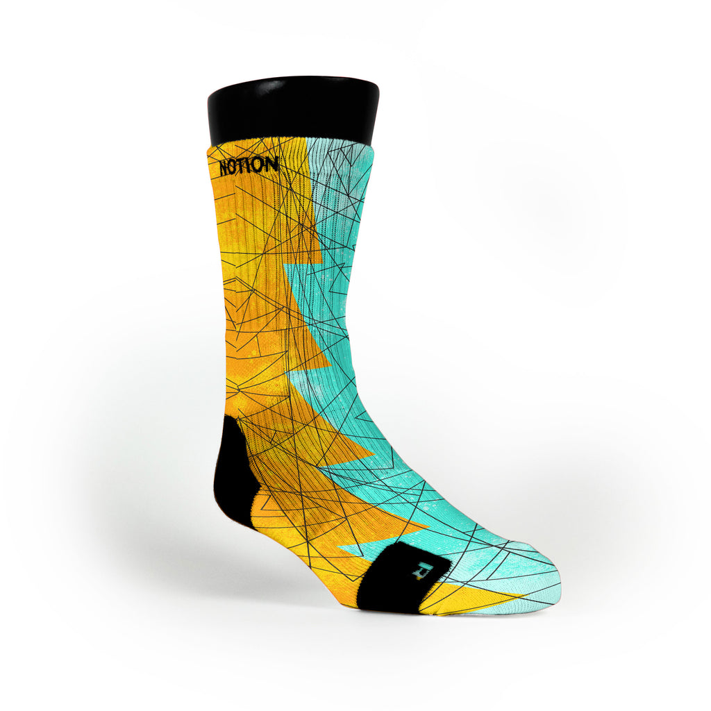 Illusion Razor Custom Notion Socks