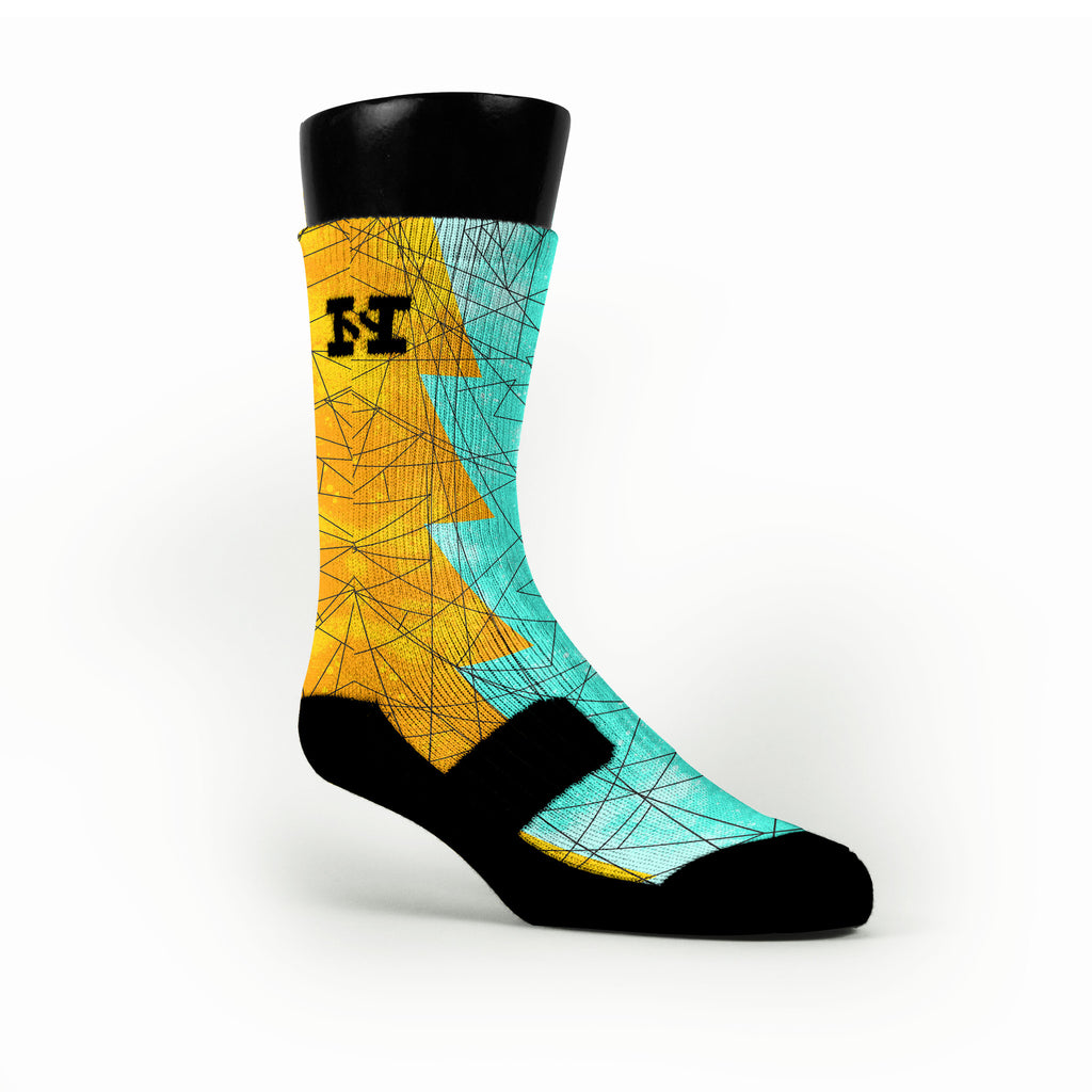 Illusion Razor Custom HoopSwagg Socks