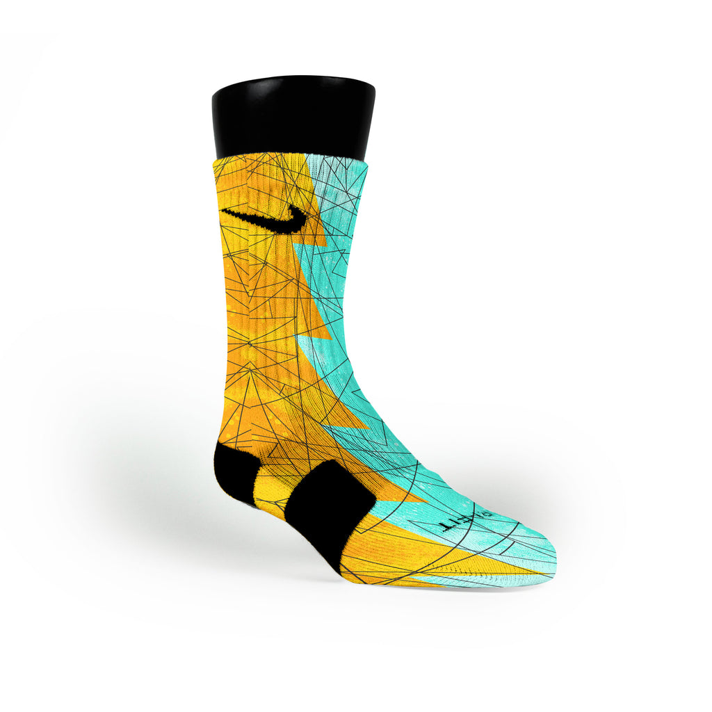 Illusion Razor Custom Nike Elite Socks