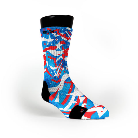 Independence Day Custom Notion Socks
