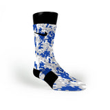 Kentucky Digital Camo Custom Nike Elite Socks