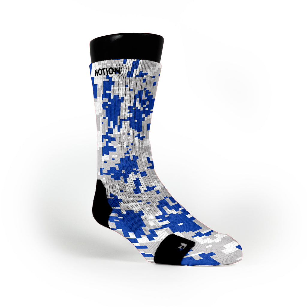 Kentucky Digital Camo Custom Notion Socks