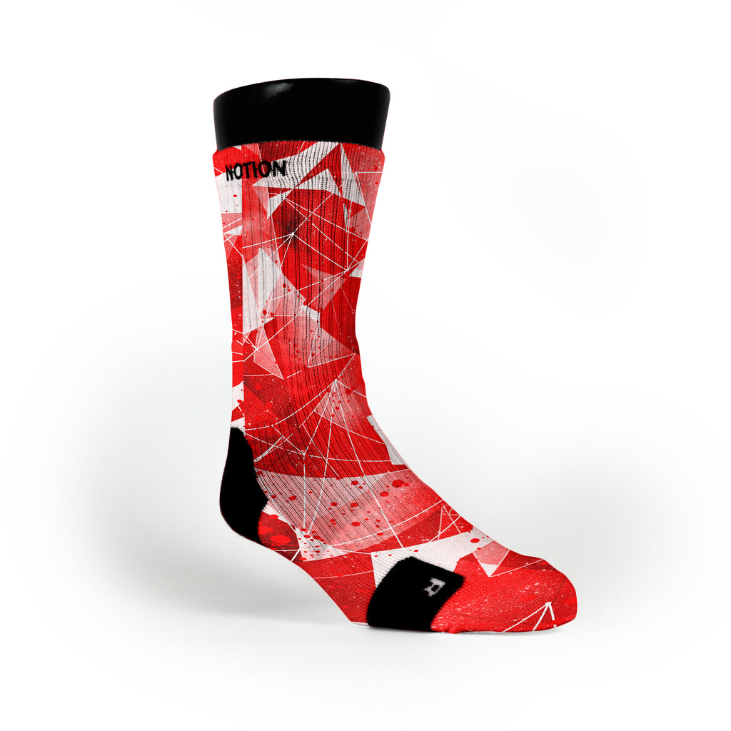 Killer Instinct Crystals Custom Notion Socks