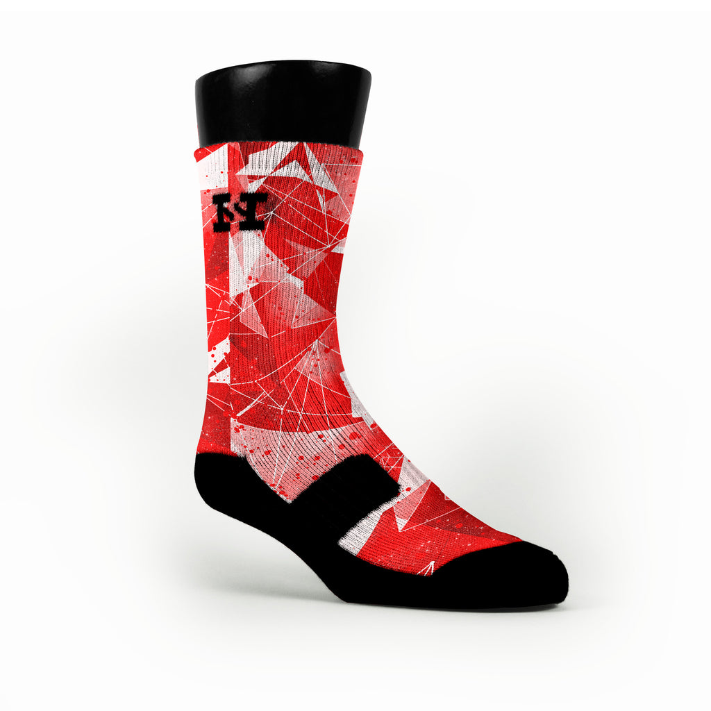 Killer Instinct Crystals Custom HoopSwagg Socks