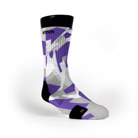 Kings Hardwood Camo Custom Notion Socks