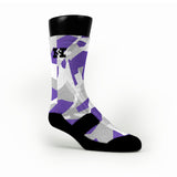 Kings Hardwood Camo Custom HoopSwagg Socks