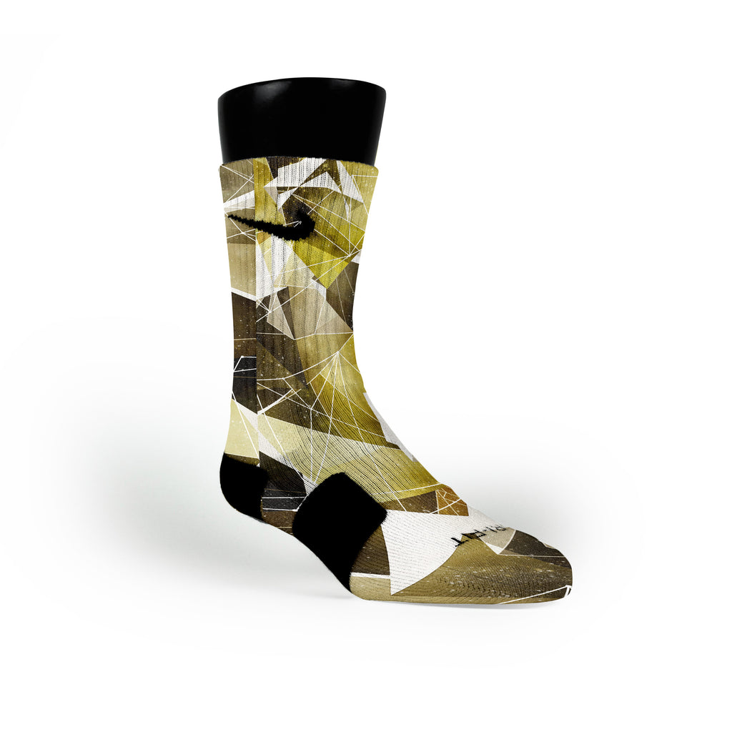 Kings Pride Crystals Custom Nike Elite Socks