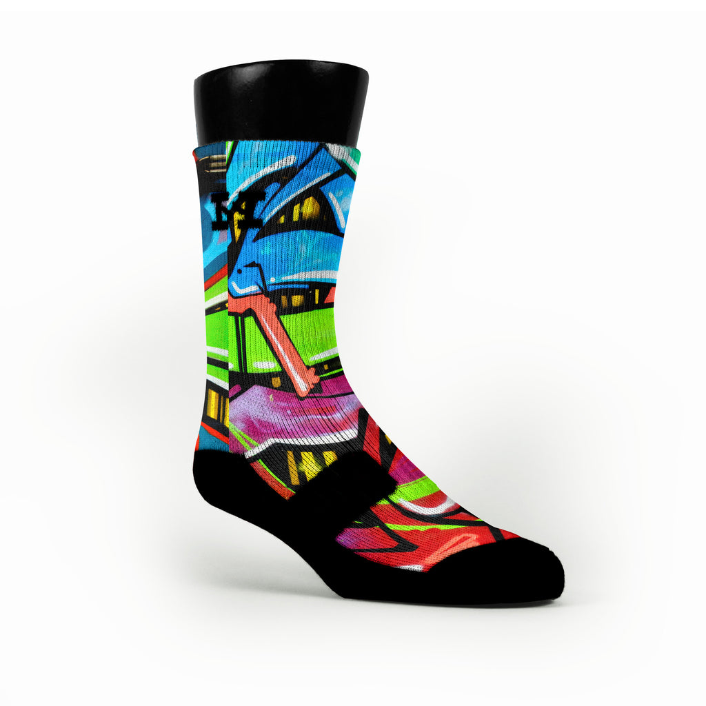 La Graffiti Custom HoopSwagg Socks
