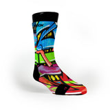 La Graffiti Custom Notion Socks