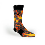 Lava Custom Nike Elite Socks