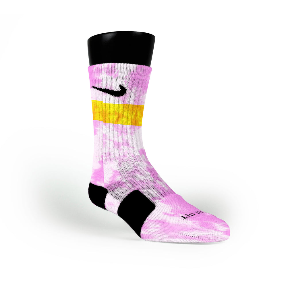 Lemonade Custom Nike Elite Socks
