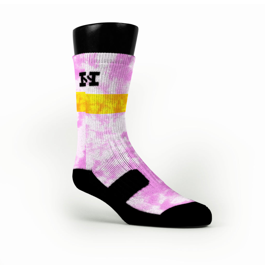 Lemonade Custom HoopSwagg Socks