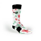 Let It Snow Custom Nike Elite Socks