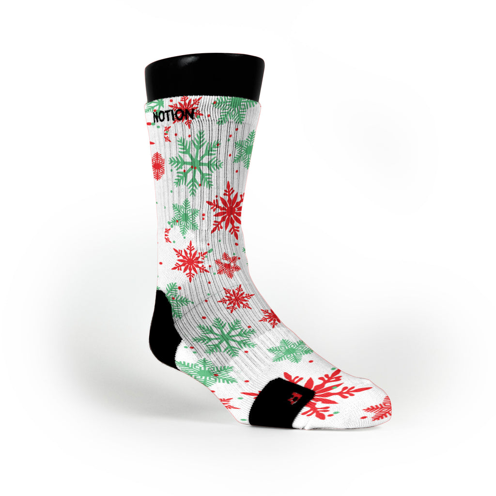 Let It Snow Custom Notion Socks