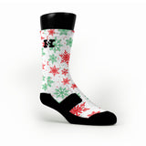 Let It Snow Custom HoopSwagg Socks