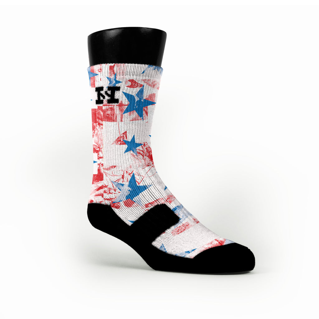 Liberty Custom HoopSwagg Socks