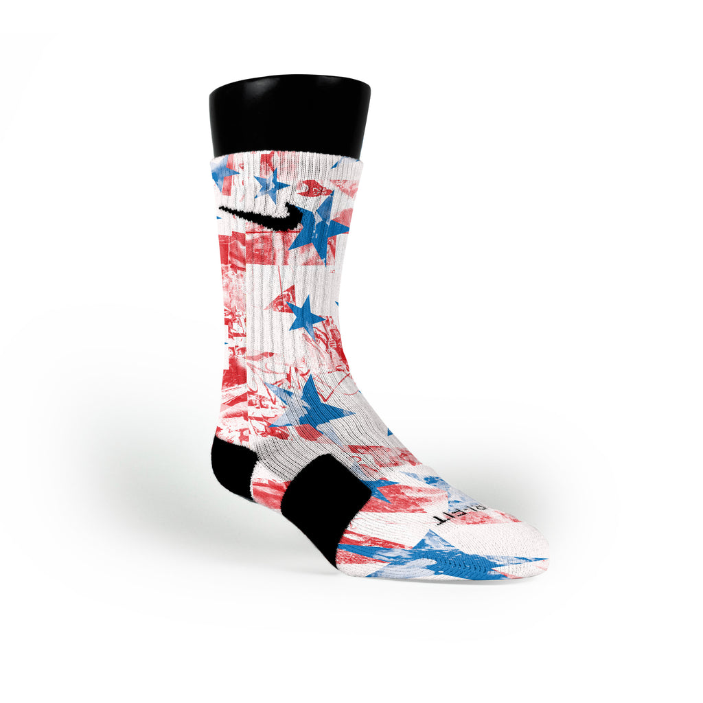 Liberty Custom Nike Elite Socks