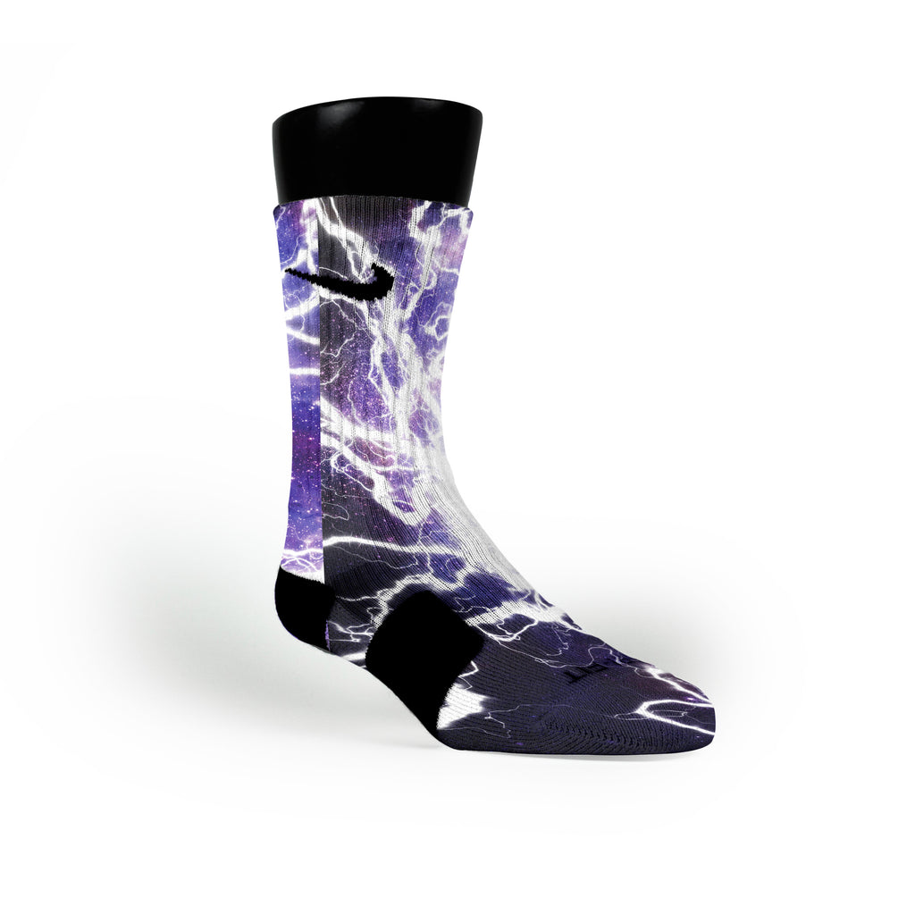 Lightning Galaxy Custom Nike Elite Socks