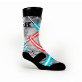 Lightsaber Custom HoopSwagg Socks