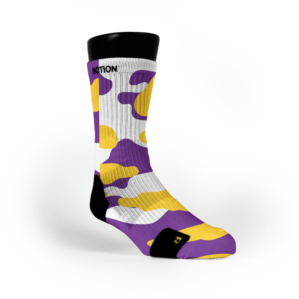 Los Angeles Camo Custom Notion Socks