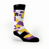 Los Angeles Camo Custom HoopSwagg Socks