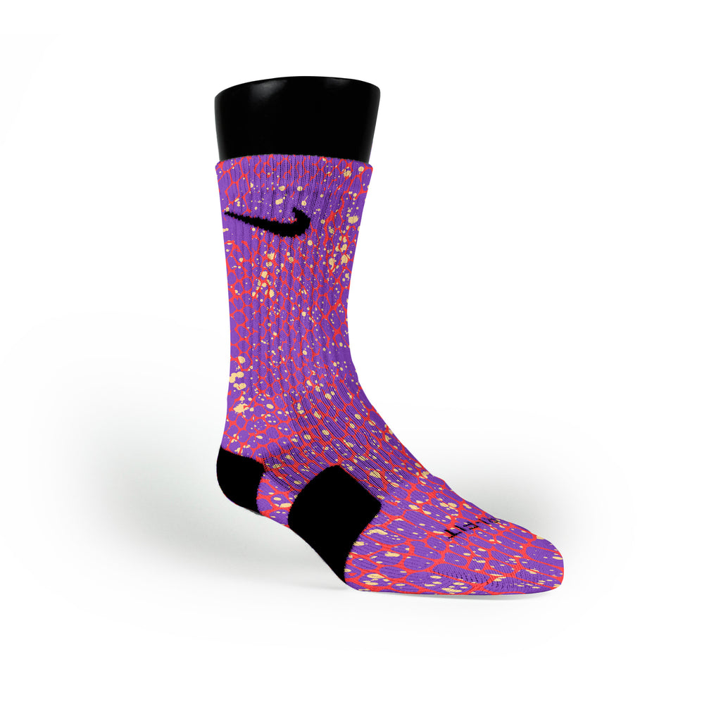 Mamba Skin Custom Nike Elite Socks