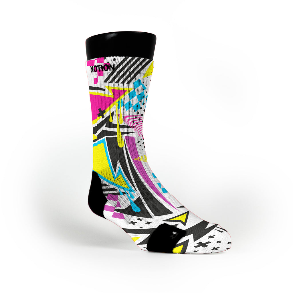 Manic Custom Notion Socks
