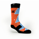 Maryland Splatter Custom HoopSwagg Socks