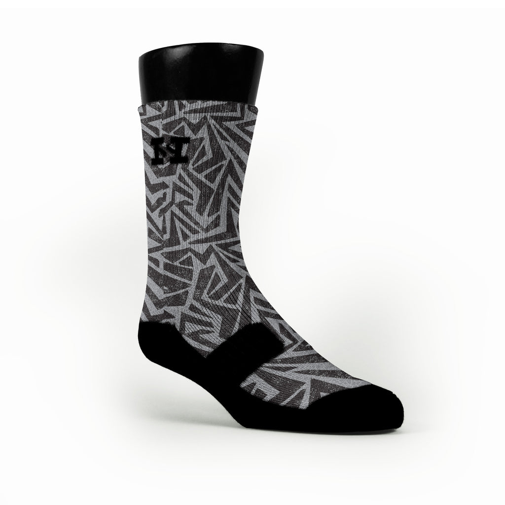 Maze Custom HoopSwagg Socks