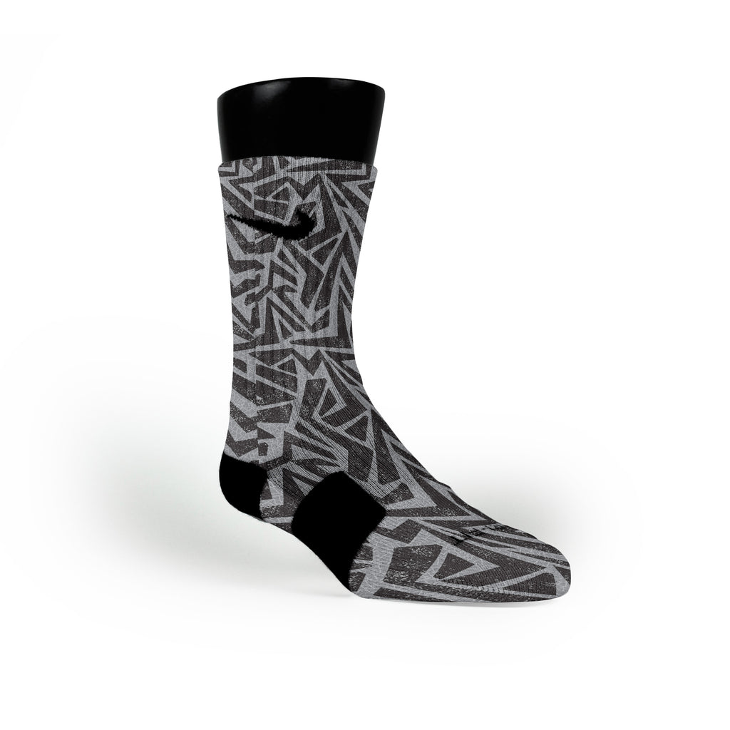 Maze Custom Nike Elite Socks