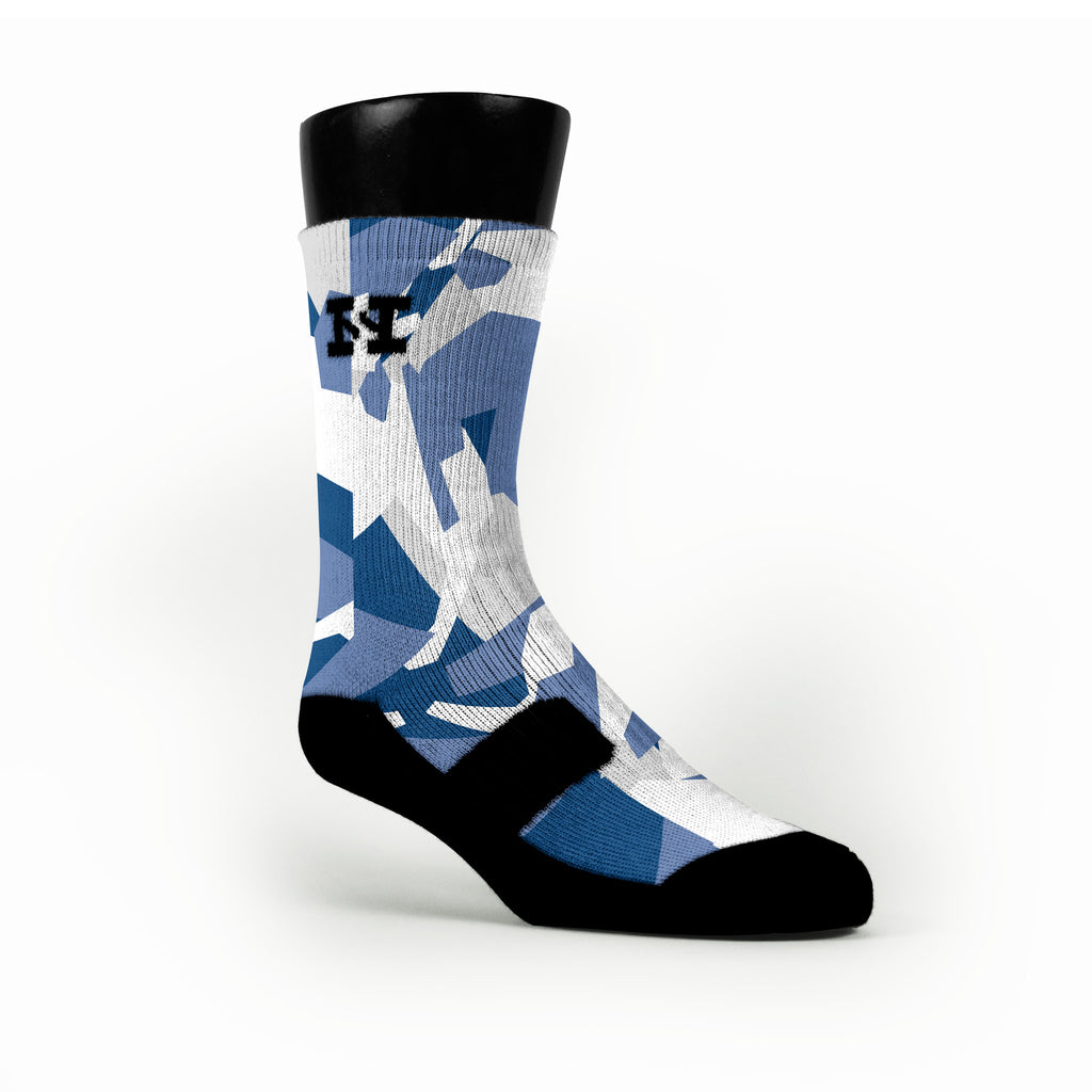 Memphis Hardwood Camo Custom HoopSwagg Socks