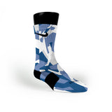 Memphis Hardwood Camo Custom Nike Elite Socks