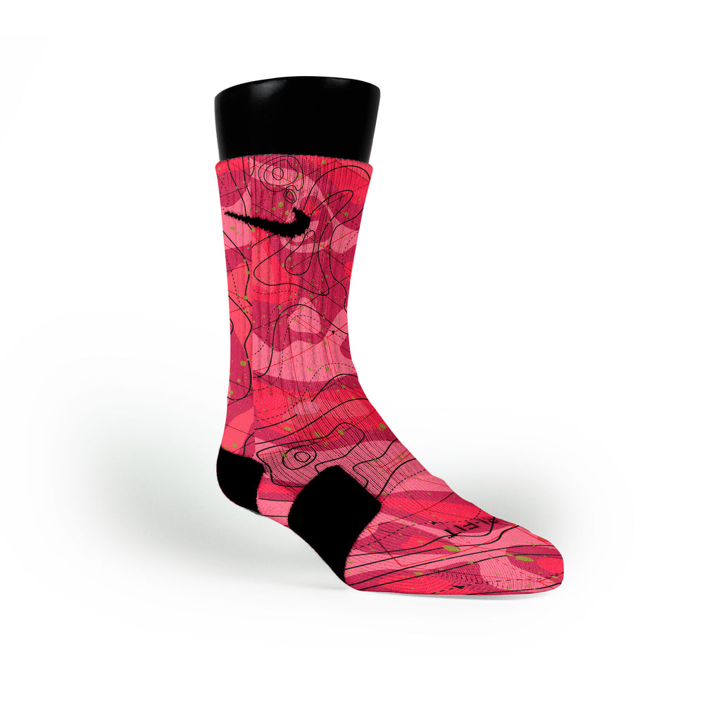 Meteorology Custom Nike Elite Socks