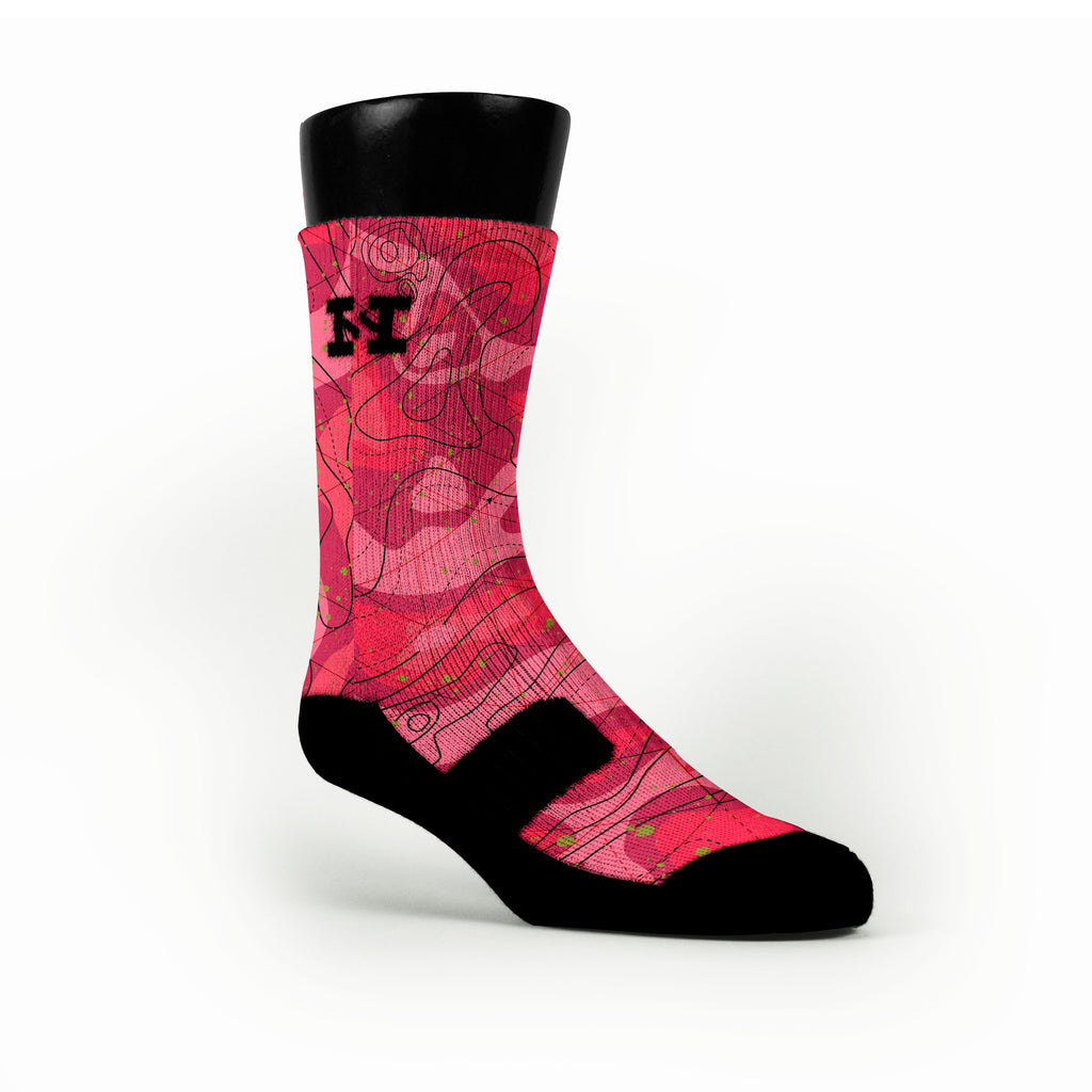 Meteorology Custom HoopSwagg Socks