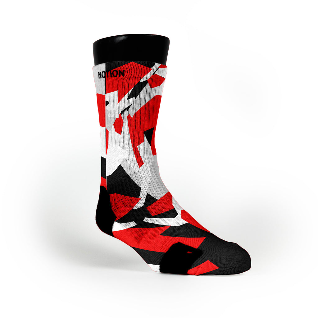 Miami Hardwood Camo Custom Notion Socks