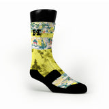 Michelangelo Custom HoopSwagg Socks
