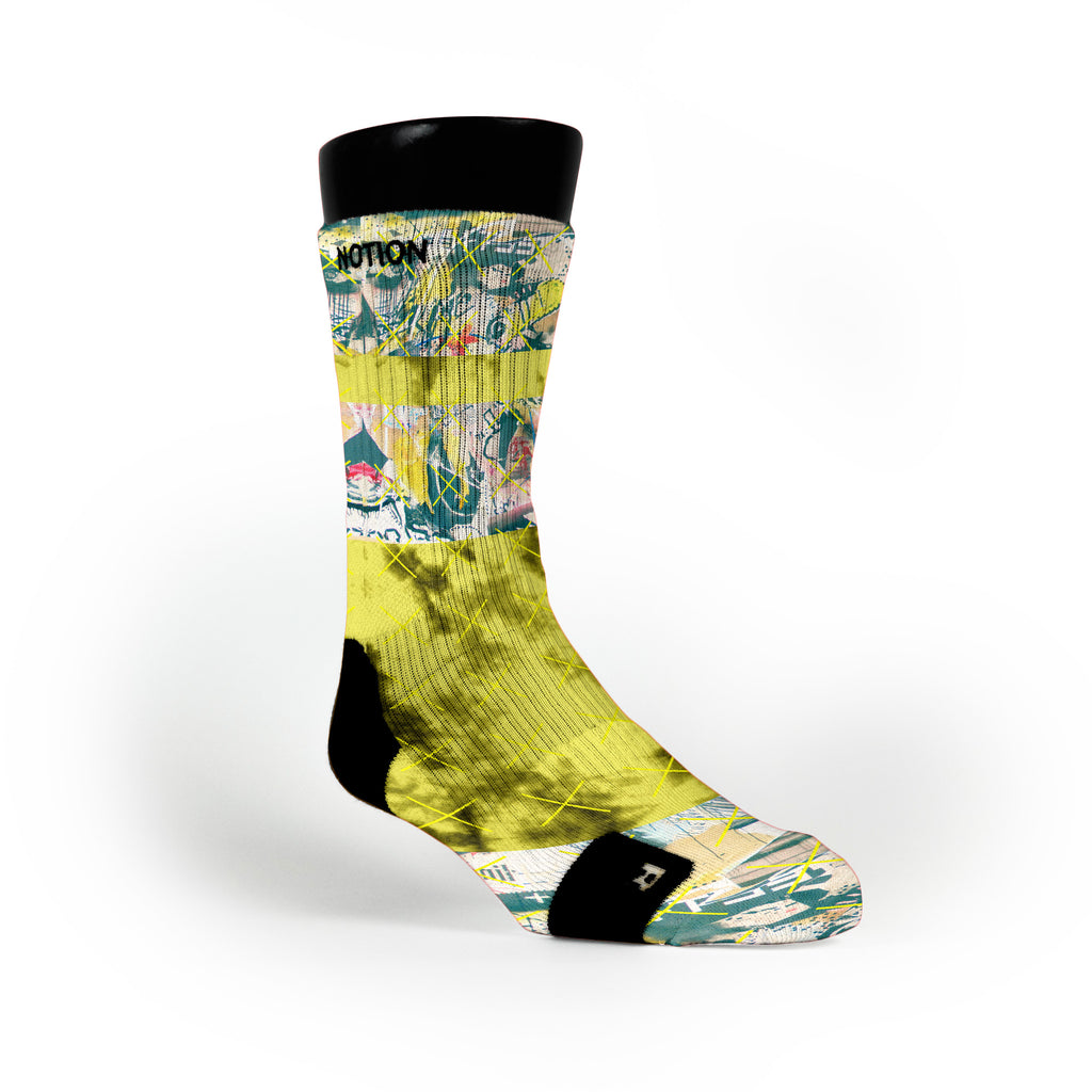 Michelangelo Custom Notion Socks