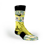 Michelangelo Custom Nike Elite Socks