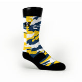 Michigan Camo Custom HoopSwagg Socks